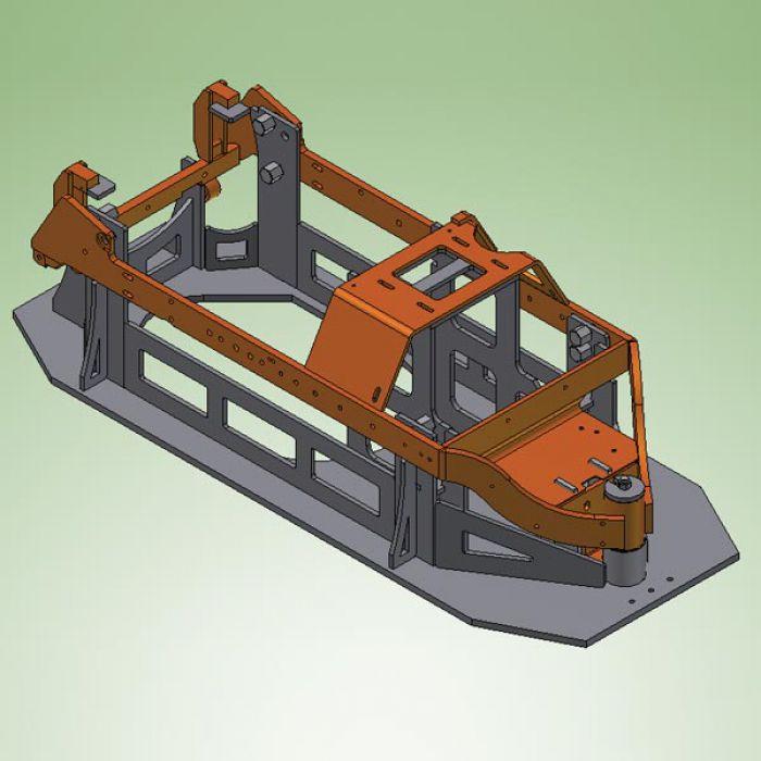 S a e carpenteria meccanica lavorazioni meccaniche su for Costruire pressa idraulica